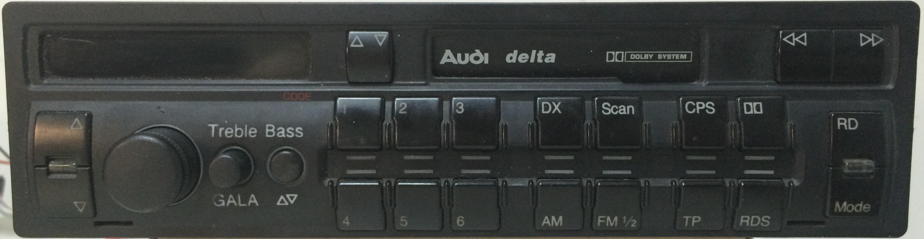 AUDI-Delta-Blaupunkt